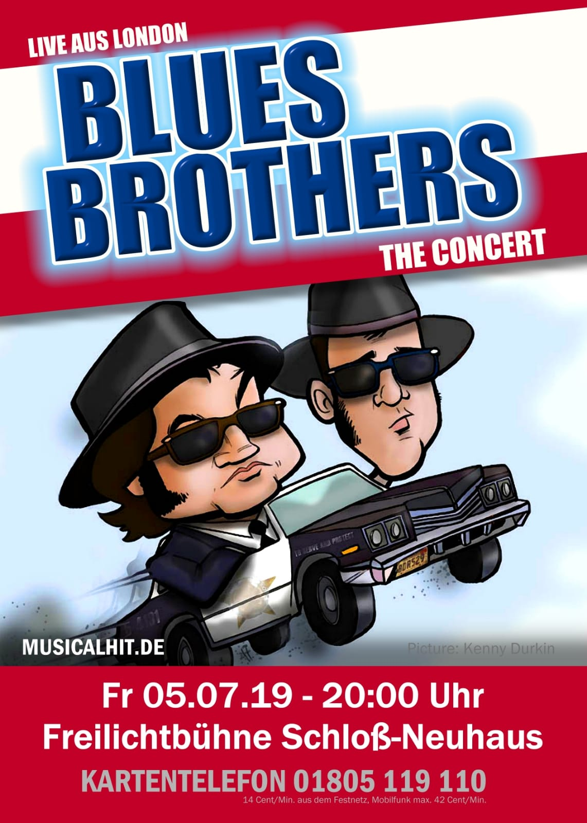 Plakat zu Blues Brothers – The Concert